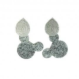 MICKEY Cristal Silver